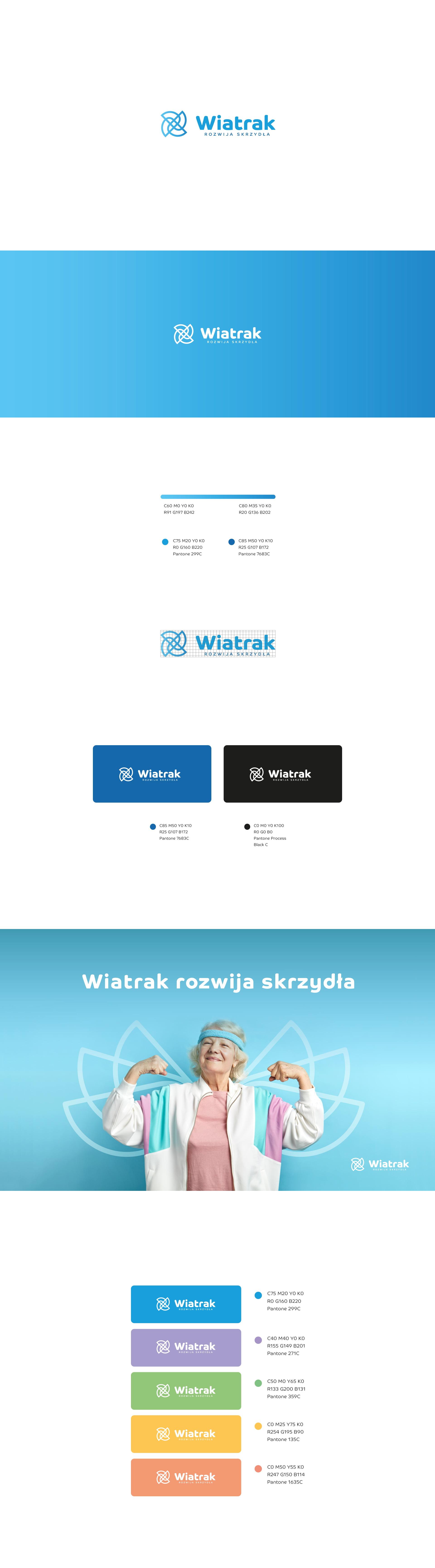 Projekt logo dlafundacji Wiatrak